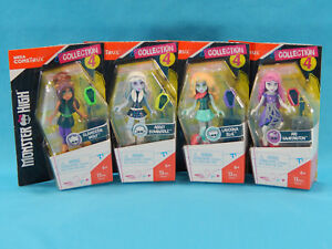 4x-Mega-Construx-Monster-High-Collection-4-Mini-Figures-New-Sealed-2016