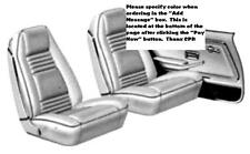 1978 Pontiac Firebird & Trans Am Bucket Seat Covers