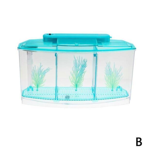 Top Fin 3 Way Aquarium Fish Tank Breeder For Sale Ebay