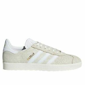 promo code b56af f14cc Image is loading Adidas-Gazelle-W-Beige-White-Women-039-s-