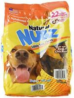Nylabone Natural Nubz Edible Dog Chews 22ct. (2.6lb Bag), New, Free Shipping