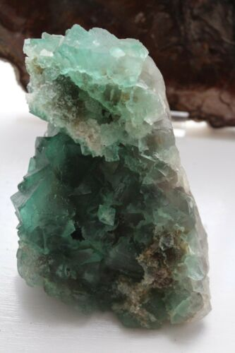 1600g AA specimen of Emerald Green Fluorite Riemvasmaak South Africa.