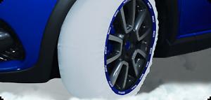 Sparco Calze da Neve in Tessuto Catene Neve per Ruote Auto Silenziose 245//30-20