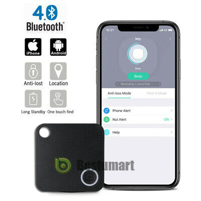 5 Packs MIUONO Key Finder 4.0 Bluetooth Smart Tracker for Keys Wallet Phone Glasses Luggage Pet Tracker Selfie Shutter APP Control Compatible iOS Android