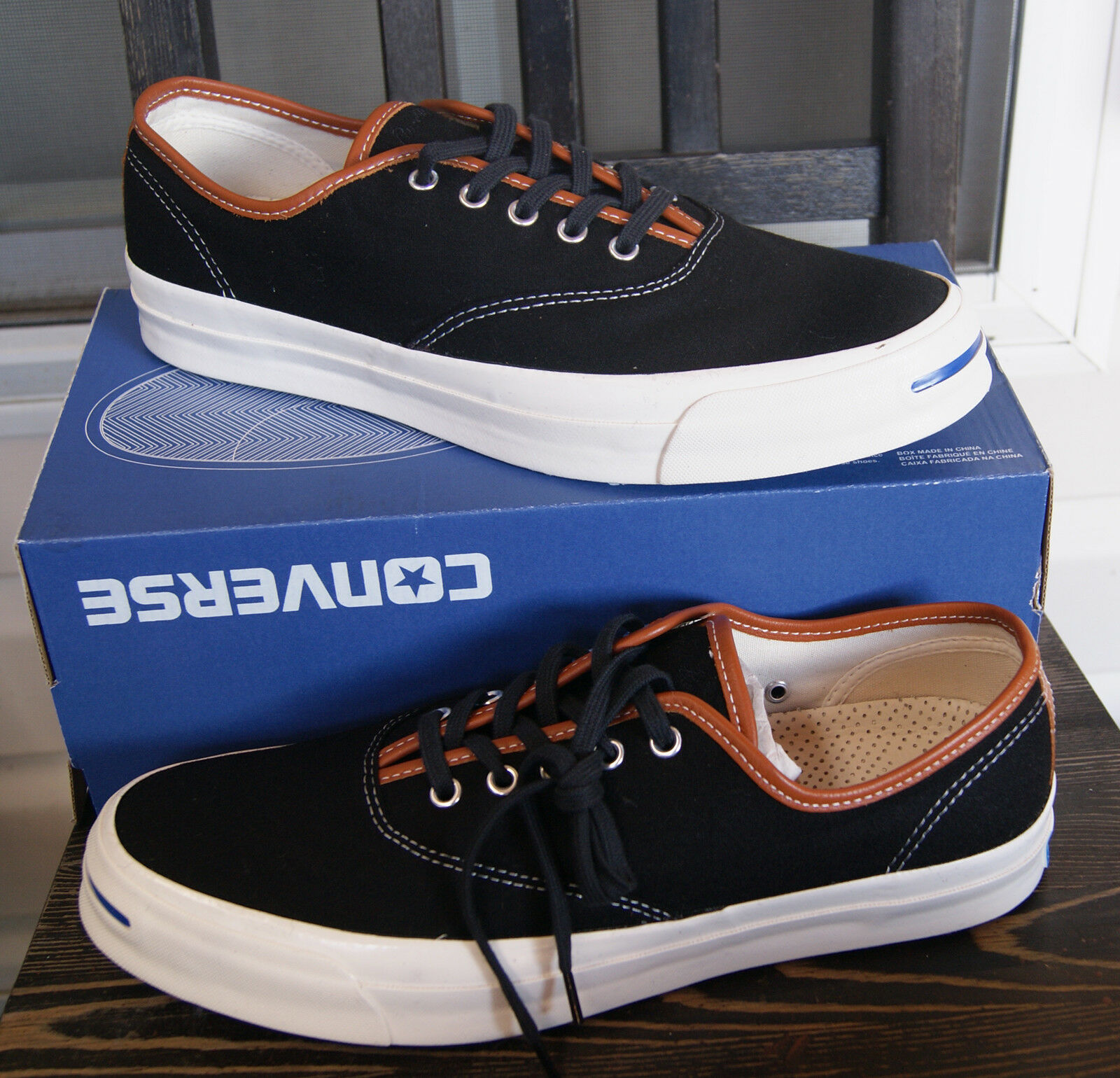 d498963fa788 NEW AUTHENTIC AUTHENTIC AUTHENTIC CONVERSE JACK PURCELL JACK SIGNATURE CVO  OX SHOE MEN S 11 254fef