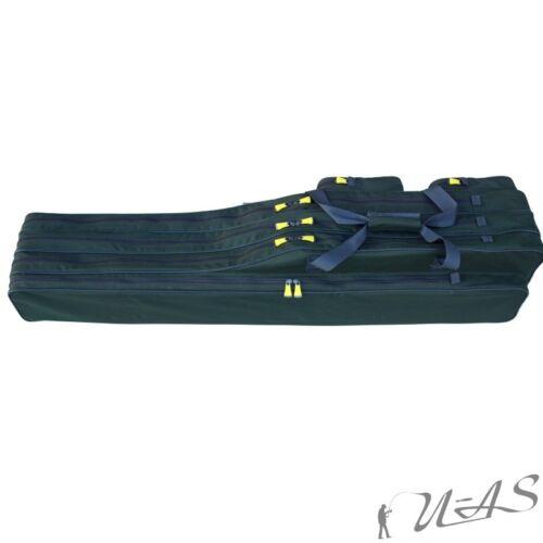 Delta Fishing Auswahl 2 /& 3 Fach Rutentasche Ruten Klettband Spitzenschutz Sha