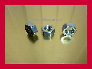 25 Stück Sechskantmuttern M1 DIN 934 Edelstahl A2 Muttern V2A hex full nuts