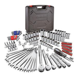Powerbuilt 152 Pc. SAE and Metric Mechanics Tool Set, 72T Ratchet - 642453
