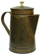 Primitive Reproduction~ Vintage ~Rusty `Coffee Pot` 8 inches Removeable Lid`