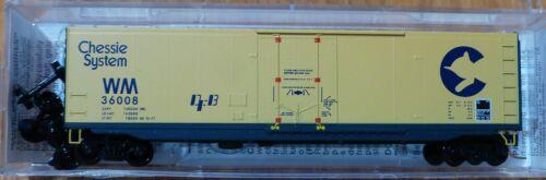 Micro-Trains Line #03800320 Chessie System//WM #36008 50/' Plug-Door Boxcar