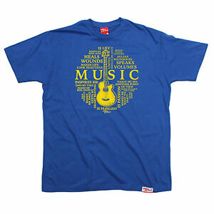 Music-Is-Life-Circle-MENS-Banned-Member-T-SHIRT-tee-birthday-gift-fashion-music