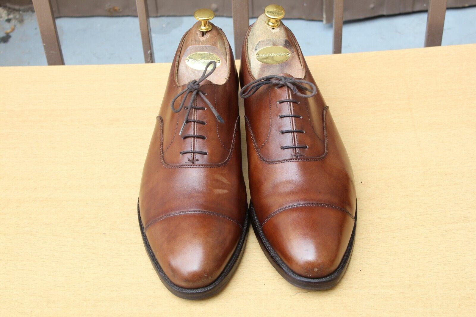 CHAUSSURE CROCKETT&JONES  CONNAUGHT  CUIR 11 EE 45 TRES BON ETAT hombres zapatos
