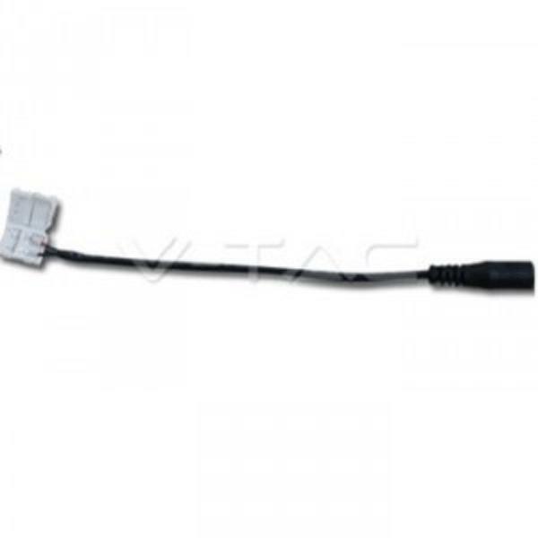 CONNETTORE FLESSIBILE STRISCIA LED 5050 DC FEMALE - 002765
