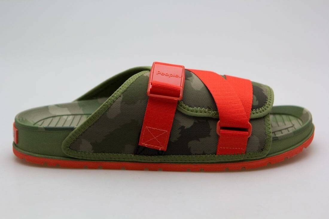 People NC04V3-POLER2 Footwear x Poler Uomo Lennon Chiller green camo NC04V3-POLER2 People 691563