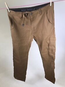 PRANA-Men-039-s-Stretch-Zion-Pants-Straight-Fit-Size-36-x-32-NWOT-Hiking-Pants