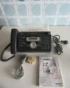 Telefono Fax Sharp UX-A460 con segreteria telefonica, esegue fotocopie documenti