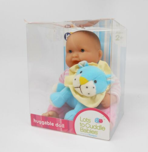 Lots to Cuddle Babies with Animals series NEW /& MINT!! LION
