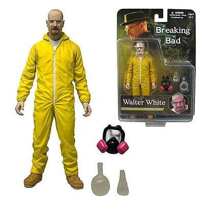 "Mezco AMC Breaking Bad Walter White 6/"" Yellow Hazmat Suit Action Figure *Sealed"