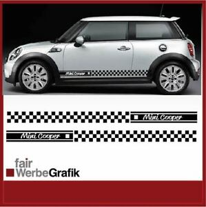 Details Zu Mini Cooper Aufkleber Sticker Seitenbeschriftung Dekor 165