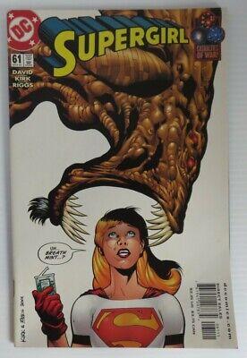 Supergirl #61 October 2001 DC Comics David Kirk Riggs