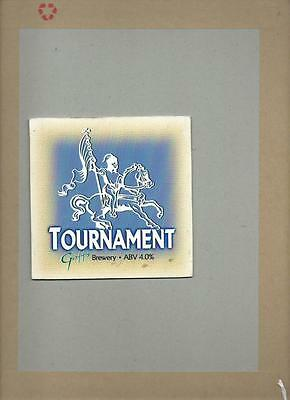 Sammeln & Seltenes Romantisch Goffs Tournament Ale Bier Pumpe Clip Face Bar Sammlerstück 10 Reklame & Werbung