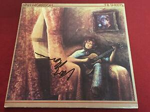 Van Morrison Signed Lp Tb Sheets Vinyl Ebay