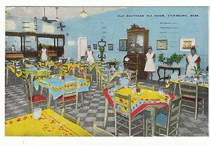 Image Is Loading INTERIOR OLD SOUTHERN TEA ROOM DINER RESTAURANT VICKSBURG