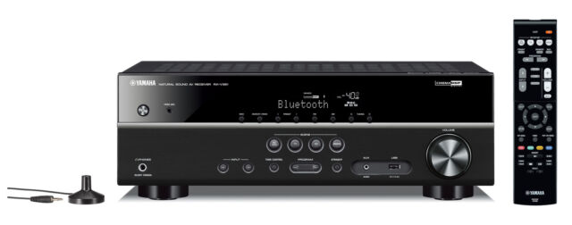 Yamaha RX-V381 AV-Receiver mit Bluetooth - Schwarz
