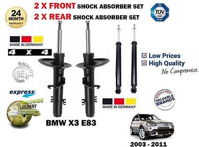 For 2009-2013 BMW 328i xDrive Shock Absorber Set Rear 98439MM 2010 2011 2012