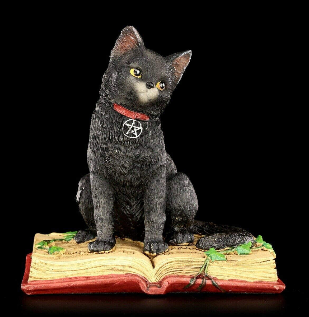 Nemesis Now 25,5 cm Figura de Gato Negro Familiar de Bruja de Espionaje