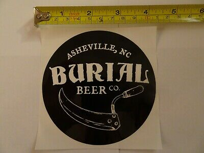NC Brewery Bumper Sticker Archetype Brewing Company Asheville