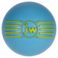 Jw Pet Isqueak Squeaky Durable Rubber Ball Dog Chew Toy 3 Medium