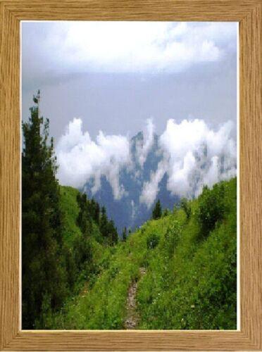 Picture Frame Photo Frames Oak Poster Frame Quality Wood Frame Glass 60x40cm