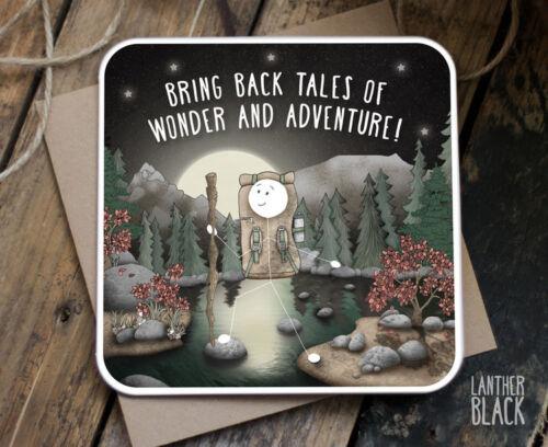 Wonder and Adventure Travel Bonne chance carte humour meilleur ami Frère Soeur