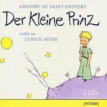 der kleine prinz. 2 cds. von antoine de saint-exupéry, a