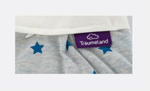 S0103305 Außenschlafsack Sternentraum blau Größe 68//74 Baby Schlafsack Kinder