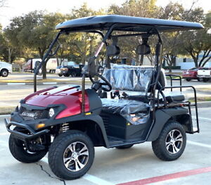 Gas Golf Cart UTV Hybrid Linhai Big Horn 200 GVX Side by Side UTV
