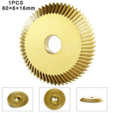 1x Key Cutting Blade For Horizontal Machines 90teeth Disk Wheel Cutter Gold Tool