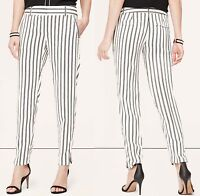 Ann Taylor Loft Marisa Fit Striped Pants