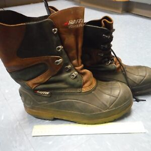 BAFFIN-Size-10-or-11-Maintain-Boots-Insulated-Heavy-Soles-Lightly-Used