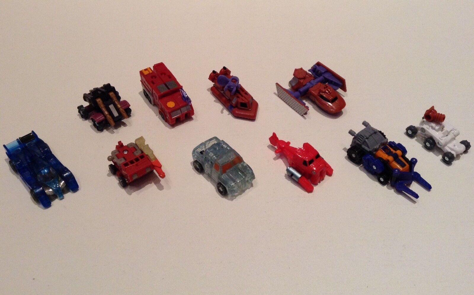 Mini Transformers Action Figures Lot Set Of 10