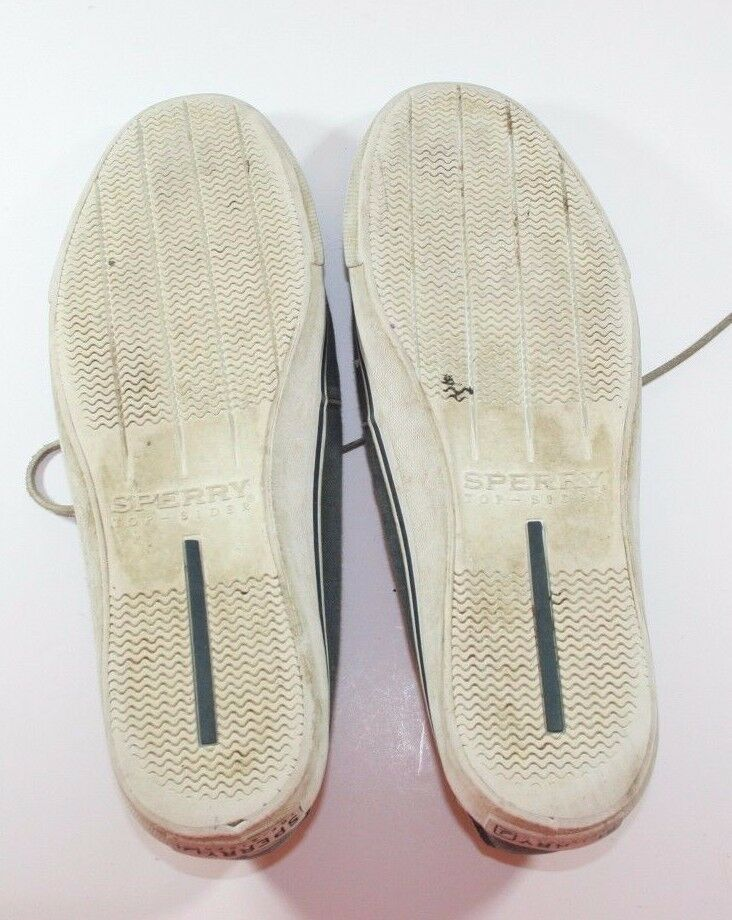 SPERRY TOP-SIDER EYELET BOATING SLIP ON Plaid LOAFER POOLSIDE SHOES 13m Plaid ON be8465