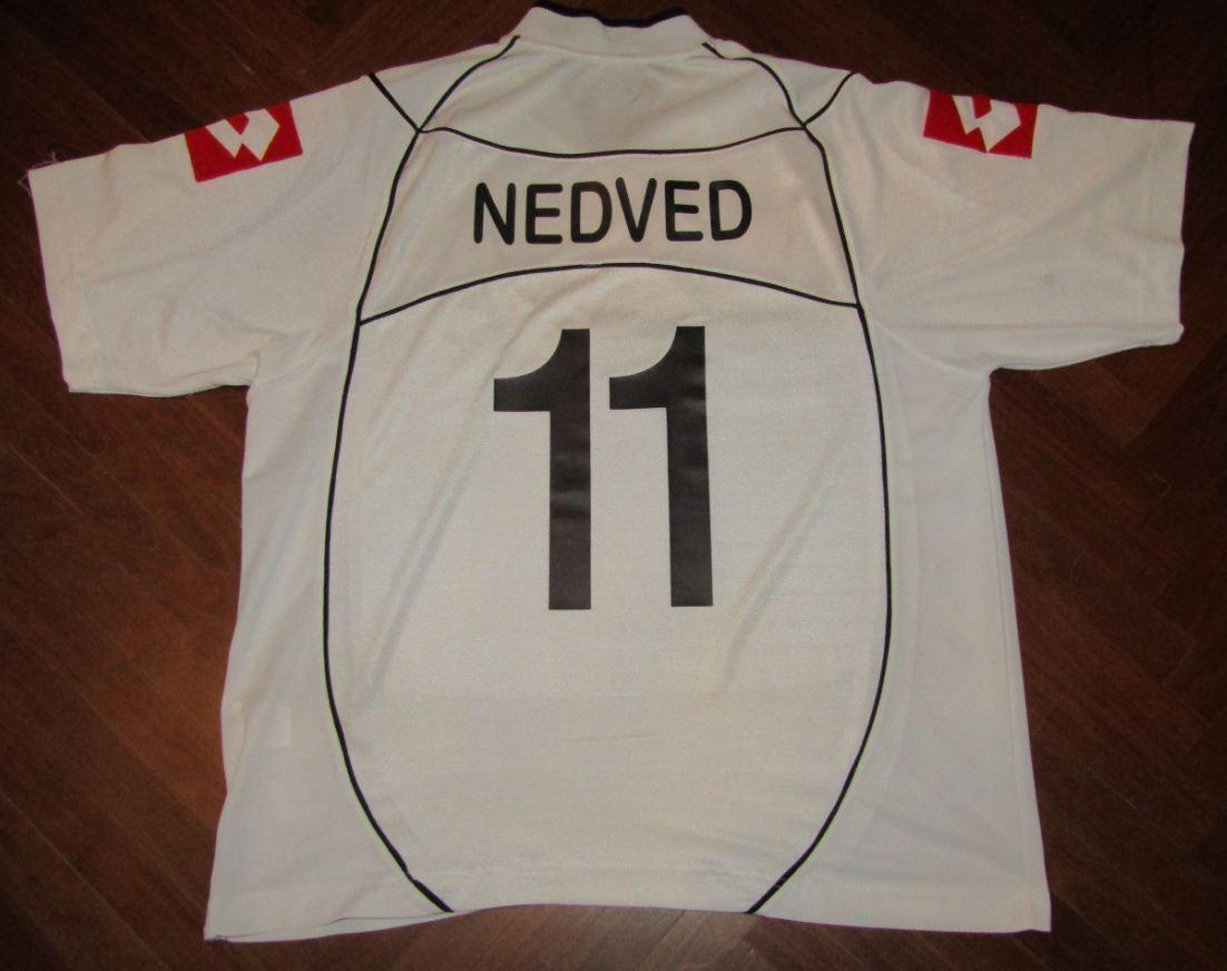 Maglia NEDVED JUVENTUS LOTTO shirt trikot jersey maillot 2002 2003 LAZIO CZECH
