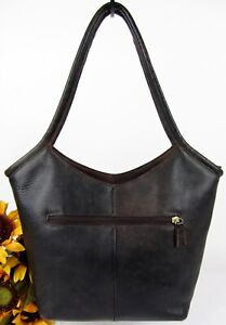 Hobo-international-Rustic-Brown-Leather-Hobo-Style-Shoulder-Handbag-MINT
