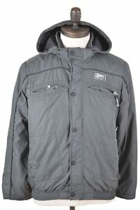 CHAMPION-Boys-Padded-Jacket-13-14-Years-XL-Grey-Polyamide-IA17
