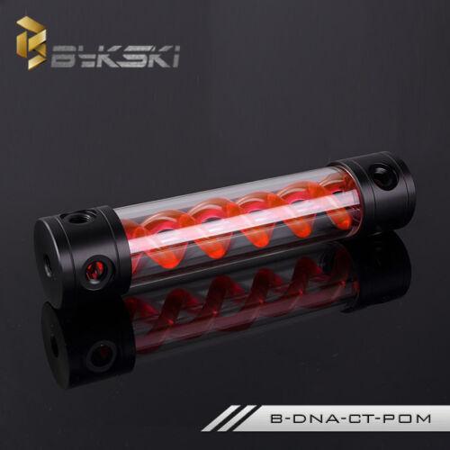 Bykski Cylinder T-Virus Reservoir Helix Suspension Water Cooling Tank 180 260mm