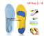 Diabetic-Medical-Arch-Support-Extra-Thick-Insoles-Running-Working-Boots-Shoes thumbnail 15