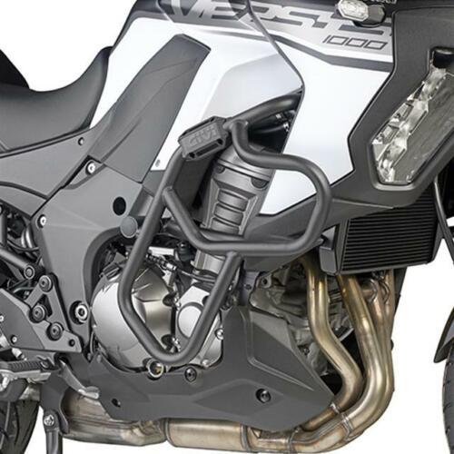 PARAMOTORE TUBOLARE PROTEZIONE MOTORE NERO GIVI TN4126 KAWASAKI VERSYS 1000//SE
