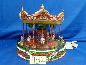 Lemax Village Collection Santa Carousel #34682 As-Is SS9512