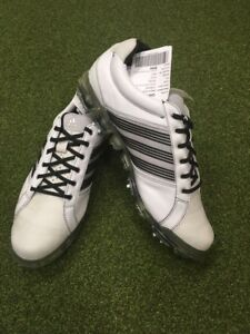 finest selection 8acee 45a2d Image is loading NEW-Adidas-Adipure-Tour-Leather-Golf-Shoes-UK-